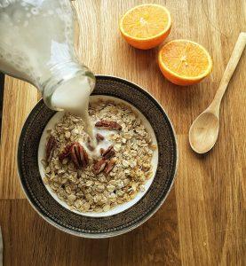 Nutrición - Leche de almendras